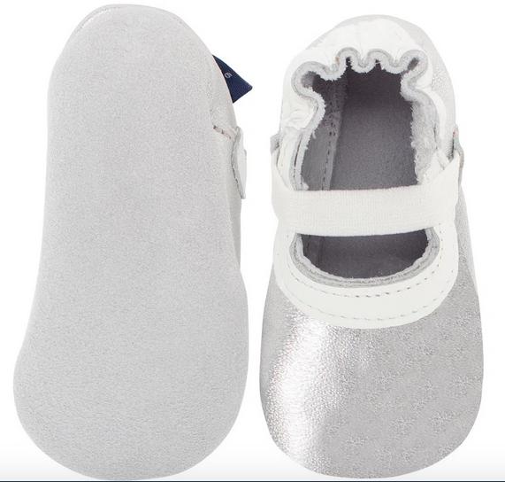 Sapato Mary Jane Prata