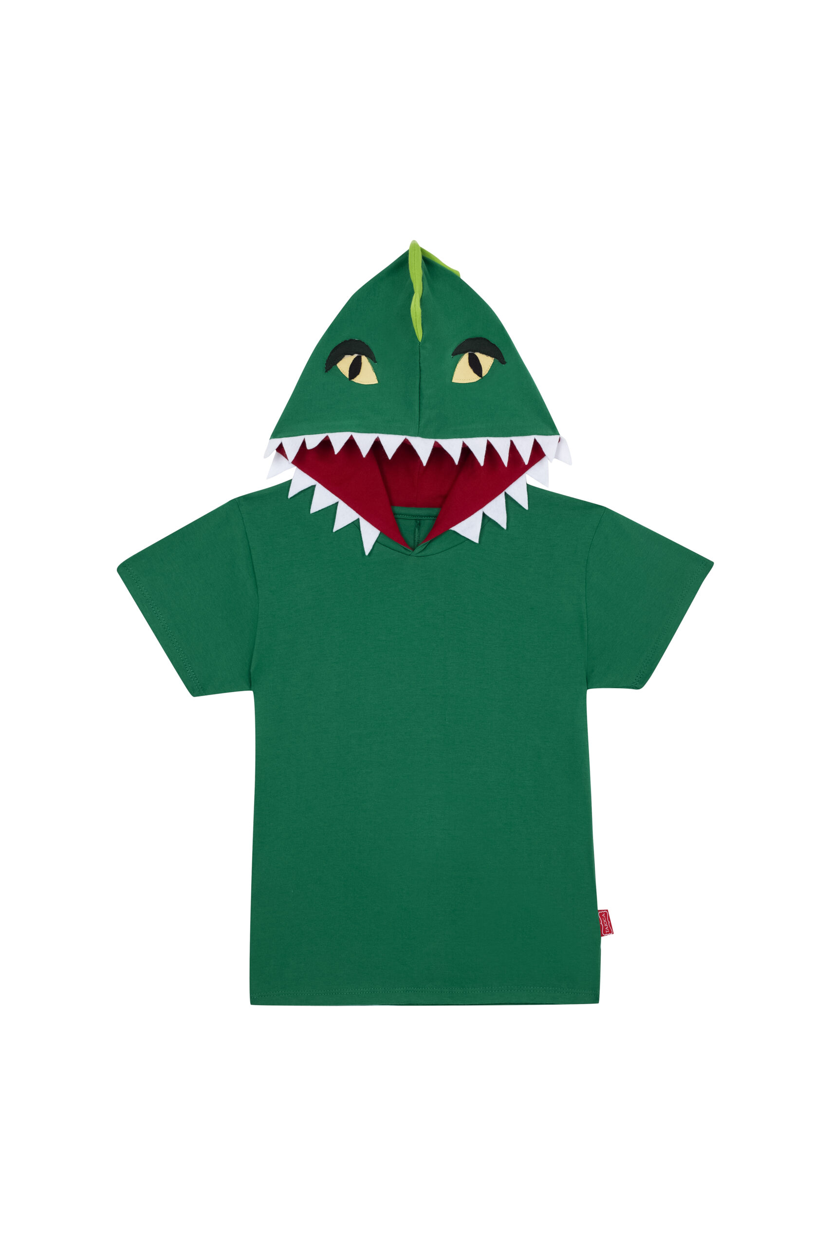 Camiseta Dinossauro Verde