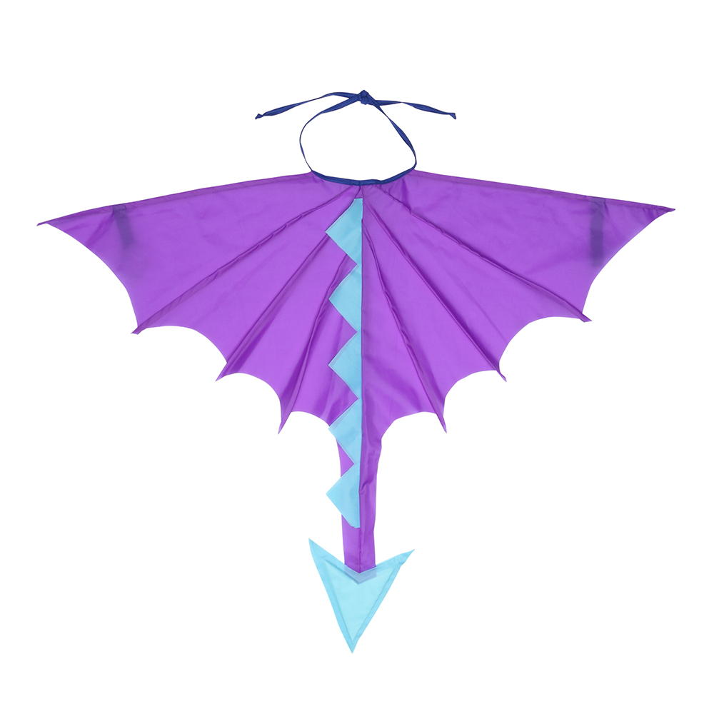 Asa Dragão Roxo E Azul