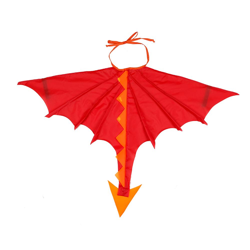 Asa Dragão Vermelho E Laranja
