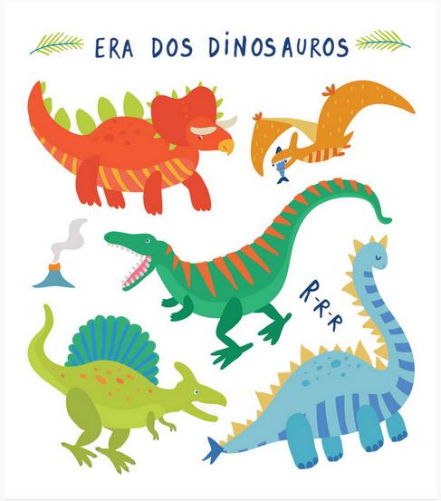 Tatuagem Temporária Dinossauro
