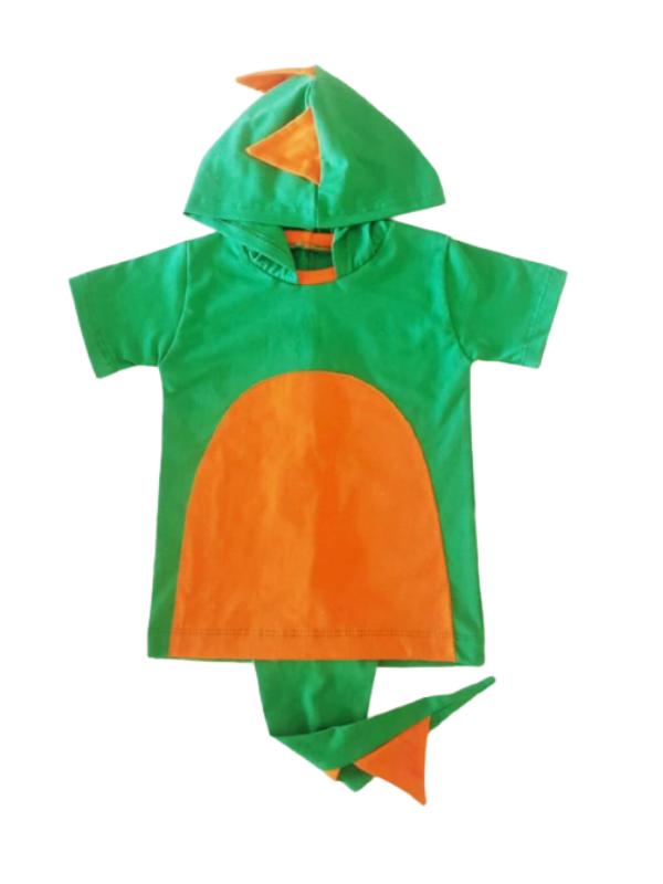 Camiseta Dinossauro Com Cauda