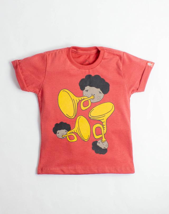 Camiseta Trompete