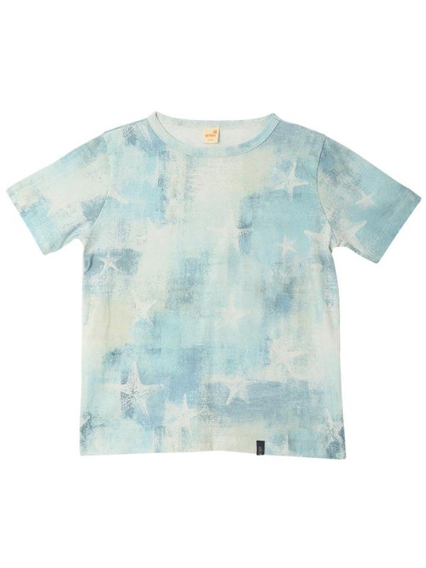 Camiseta Ocean Azul Claro