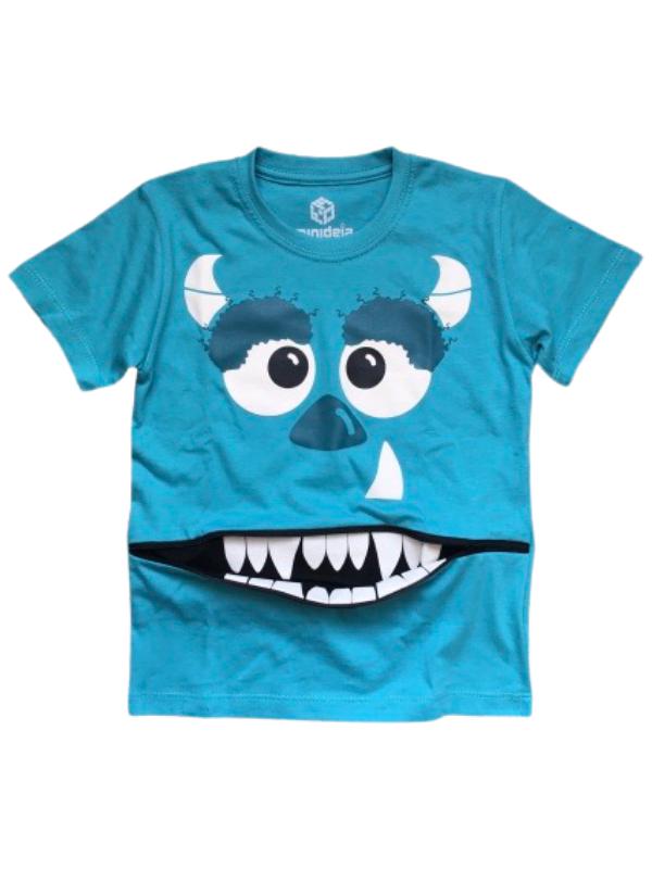 Camiseta Monstro Azul