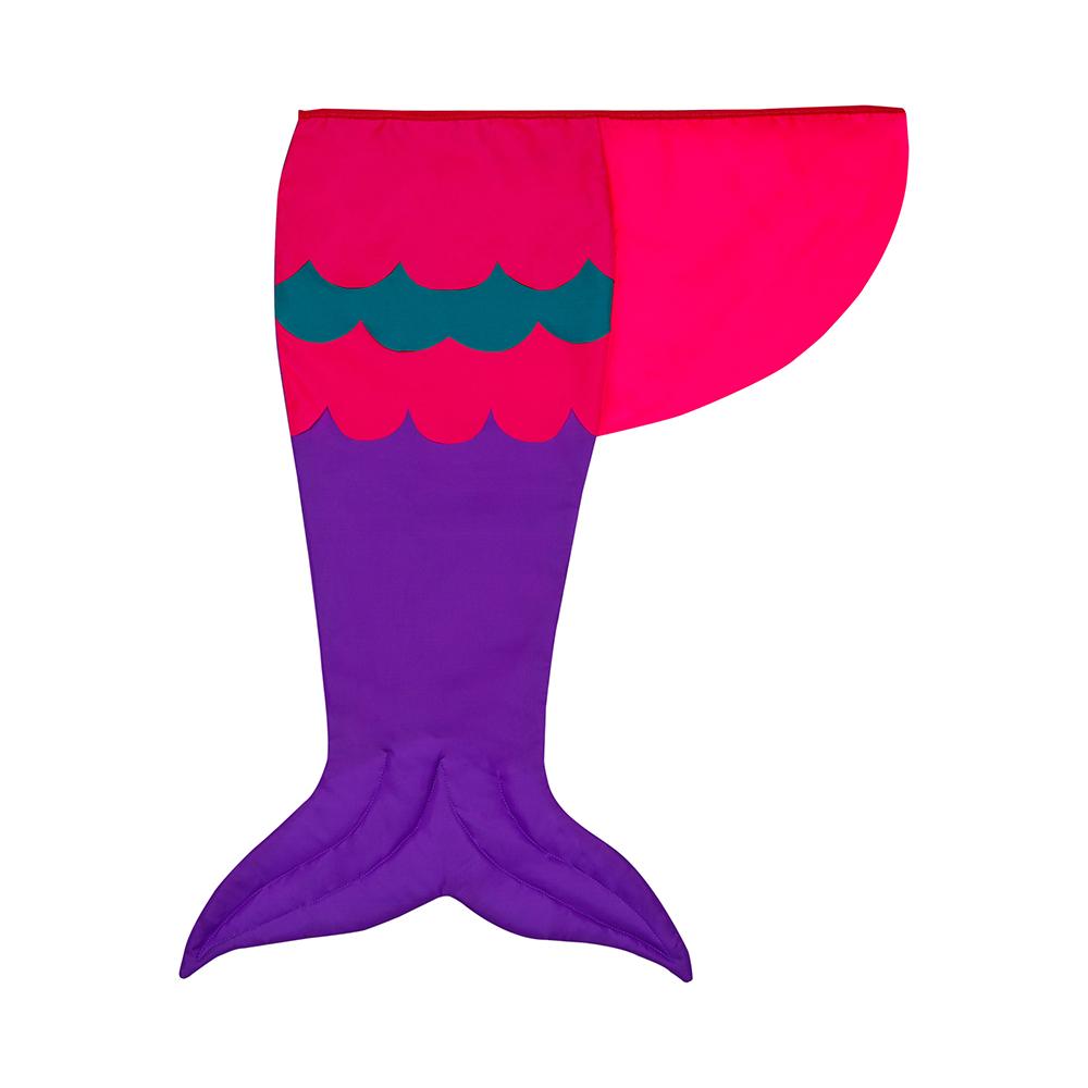 Cauda Sereia Roxa, Pink E Verde