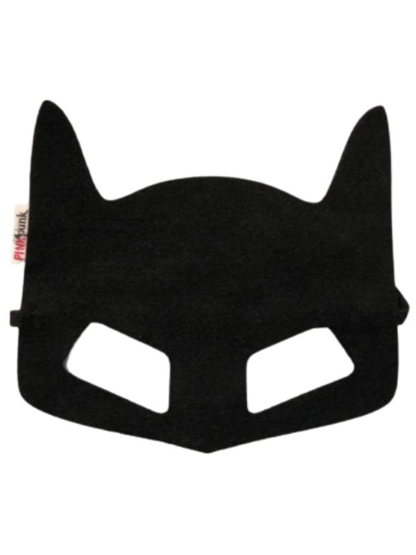 Máscara Homem Morcego Em Feltro